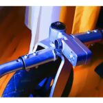 defektes Outdoorrad mit gebrochener Schweißnaht