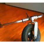 defektes Outdoorrad ohne Rollstuhl