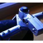 defektes Outdoorrad vom Rollstuhl