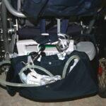 große mobile Absaugung am Rehabuggy Kimba Cross