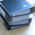 Sammlung der Briefe und Lieferscheine von Hilfsmitteln und Widersprüche